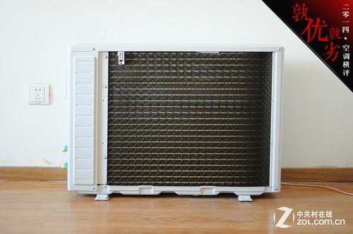 空调室外机的冷凝管采用了tcl独家的纳米