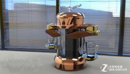 精确控温节能 首款电磁感应咖啡机问世