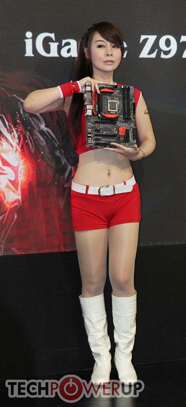 台北电脑展又一大波妹子来袭 130张ShowGirl美图一网打尽的照片 - 42