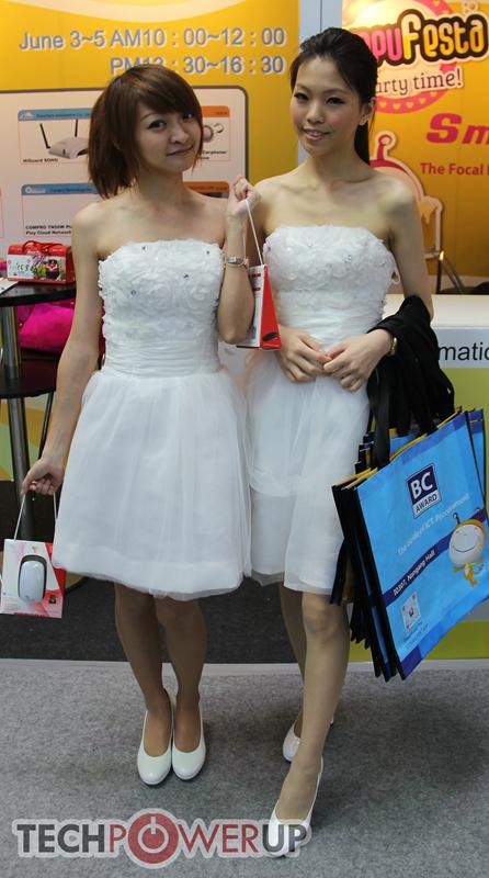 台北电脑展又一大波妹子来袭 130张ShowGirl美图一网打尽的照片 - 60
