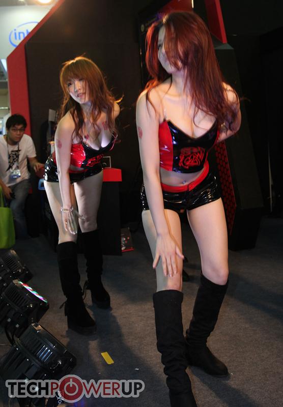 台北电脑展又一大波妹子来袭 130张ShowGirl美图一网打尽的照片 - 78