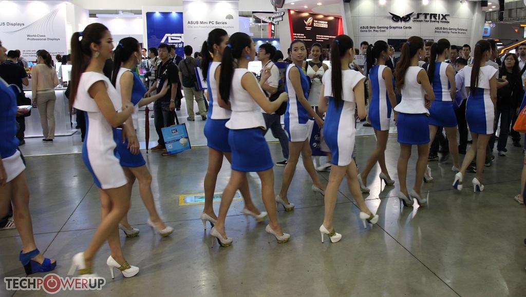 台北电脑展又一大波妹子来袭 130张ShowGirl美图一网打尽的照片 - 96