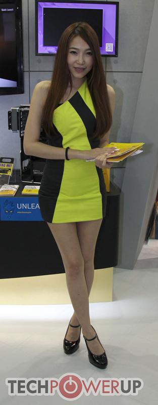 台北电脑展又一大波妹子来袭 130张ShowGirl美图一网打尽的照片 - 112