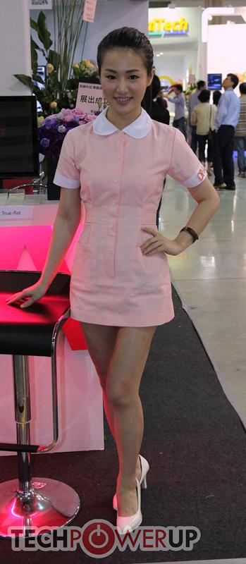 台北电脑展又一大波妹子来袭 130张ShowGirl美图一网打尽的照片 - 18