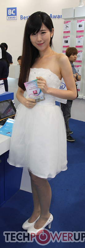 台北电脑展又一大波妹子来袭 130张ShowGirl美图一网打尽的照片 - 14