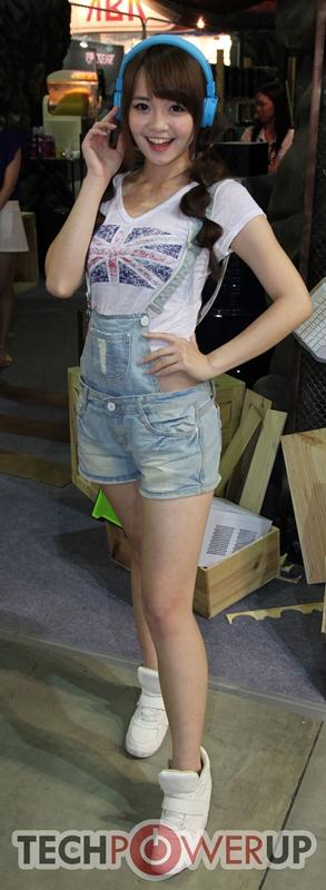台北电脑展又一大波妹子来袭 130张ShowGirl美图一网打尽的照片 - 8