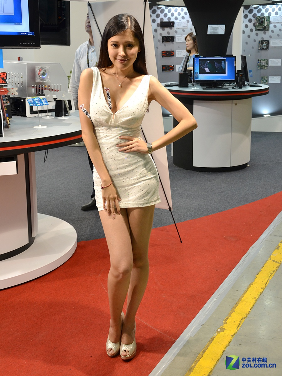 Computex 2014 诱惑嫩模图集大放送的照片 - 43