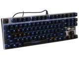 达尔优机械合金版机械键盘(87键)