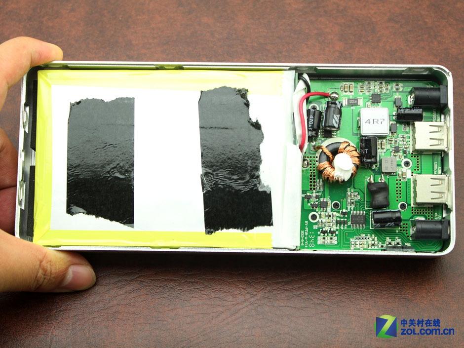 笔记本充电 爱唯克思RV20000A拆解图赏