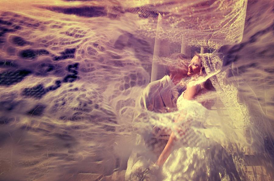 意识流风格 国外大师grishina婚纱摄影9_数码影像