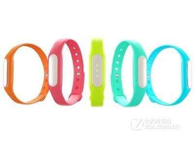 小米(MI)小米智能手环 防水智能腕带睡眠计步器 (全新白色LED提示灯版)