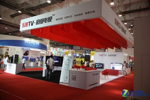 互聯網新貴 樂視超級電視參展SINOCES