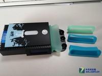 吸风结构 超频三笔记本散热器冰营图赏