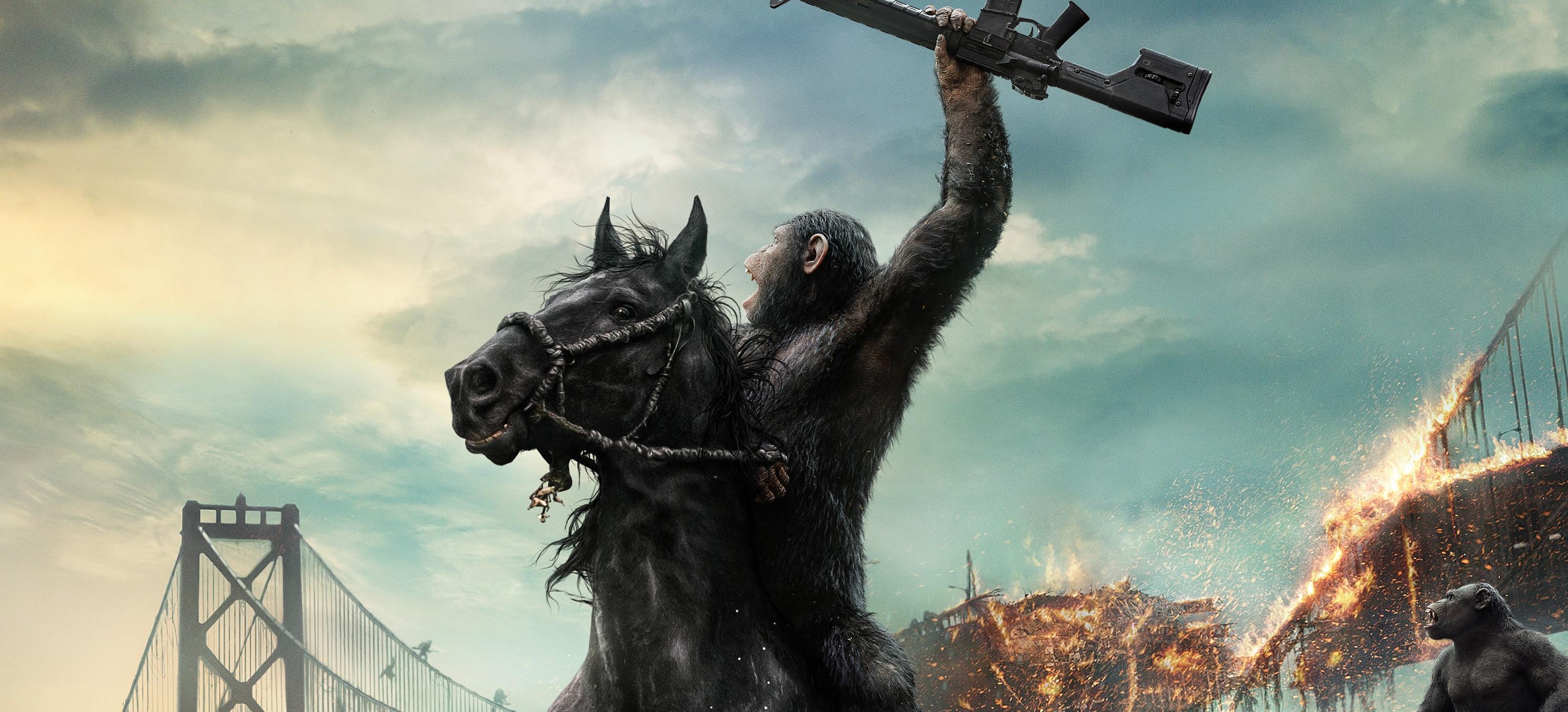 猩球崛起黎明之战 人猿大战电影组图