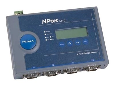 MOXA NPort 5410(4口RS-232)