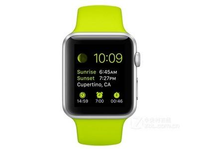 【Apple Watch专卖】上门自提2485元 先验货后付款  Apple Watch Sport  运动版 .银色铝壳复合材质表背.LON-X玻璃表镜retina显示