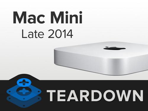 2014新款Mac mini详细拆解 维修更困难