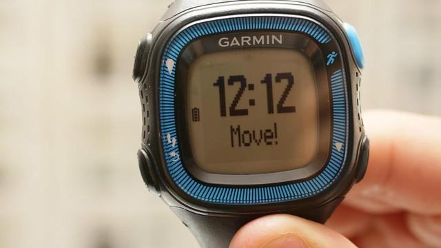 gps运动智能手表 佳明forerunner15图赏