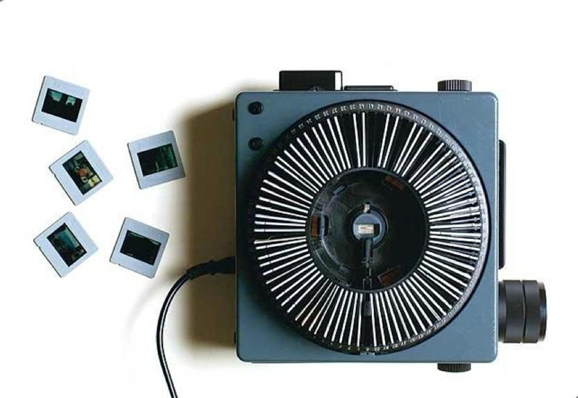 幻灯片很容易碎,灯泡需要风扇降温.