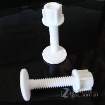 马桶配件 马桶盖螺丝 座便器坐便盖螺丝安装固定配