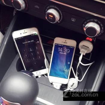 宾捷 专车专用车载充电器 双usb 万能 手机车用充电器 大众 福特 奥迪