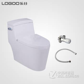 马桶lg-e80301节水型连体陶瓷座便器