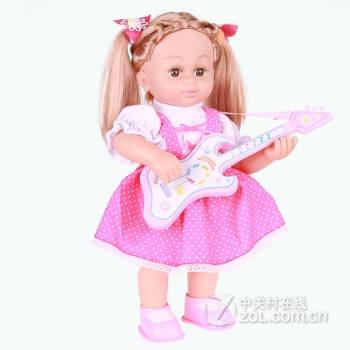 超级逗逗智能娃娃芭比娃娃 唱歌跳舞 音乐娃娃 儿童音乐早教玩具030