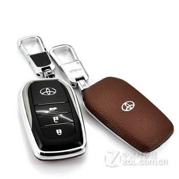 迪加伦丰田钥匙套 新锐志 皇冠 凯美瑞 卡罗拉 汉兰达 专用改装 汽车