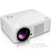 霸王兔(sangmax)LED-66  家用商务投影仪可播放3D电影   直读U盘视频 音乐   白色