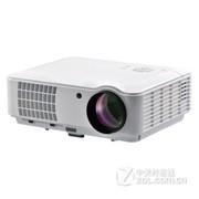 比拓(BITO) BT803 高清家用投影机  led投影仪 投影电视 白色
