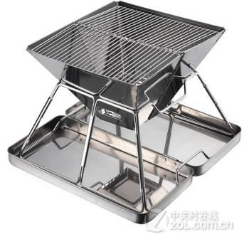 迷彩考拉 不銹鋼折疊戶外燒烤架爐子 燒烤碳木炭烤肉機燒烤箱盤爐具