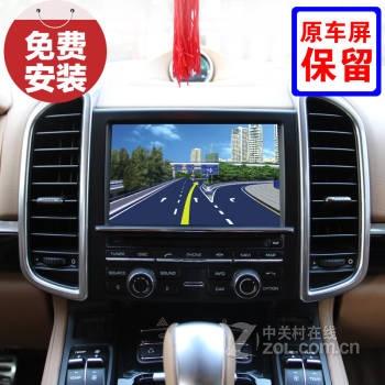 fosp保时捷卡宴macan911原车屏专用gps车载导航仪倒车影像记录仪dvd数
