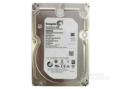 希捷 6T 7200转128M监控级硬盘(ST6000VX0001)