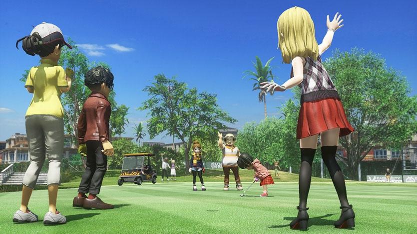 ps4独占《新大众高尔夫》最新游戏截图