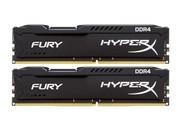 【官方正 品 假一赔十】金士顿 骇客神条FURY 16GB DDR4 2400(HX424C15FBK2/16)