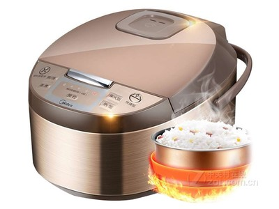 Midea/美的 MB-WFD4016电饭煲锅4L智能家用迷你多功能3-5-6人易用