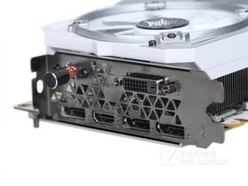 影驰GeForce GTX 1080名人堂限量版显示输出接口