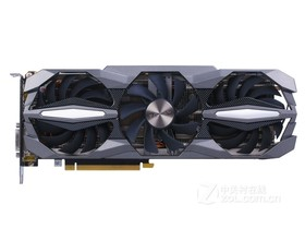 索泰GeForce GTX 1070-8GD5 至尊Plus OC正面