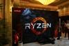 AMD展台Ryzen实机展示
