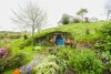 新西兰霍比特人村的袋底洞