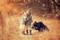 从小就彪悍 战斗民族唯美的儿童摄影