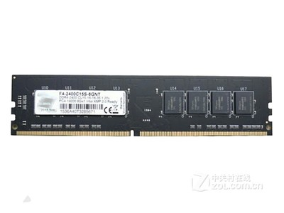 芝奇 Value 8GB DDR4 2400(F4-2400C15S-8GNT)