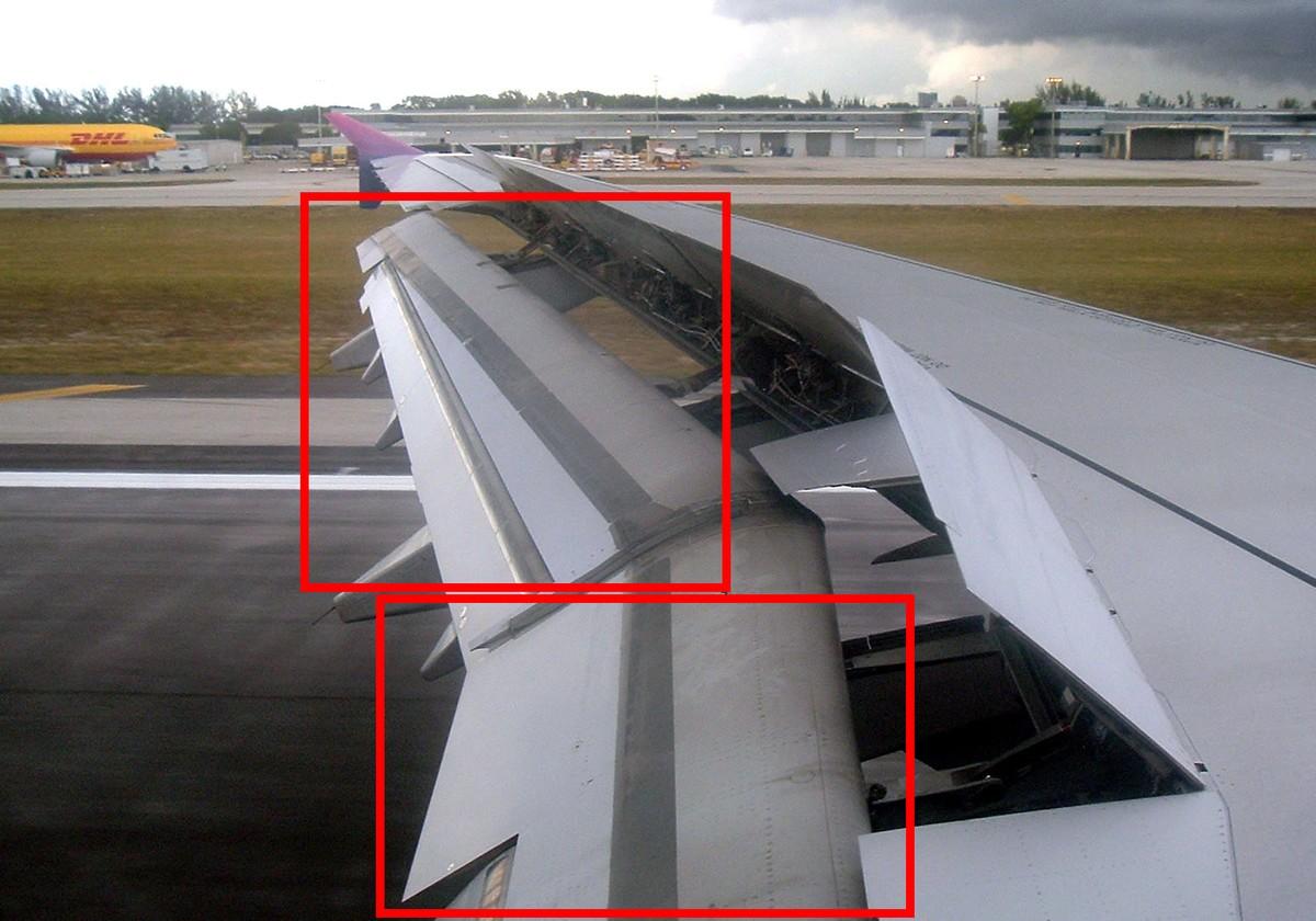 【高清图】 打赌你都见过 揭秘飞机机翼的神秘结构图19