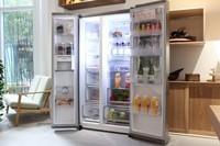 从此敲出幸福感 LG对开门冰箱多图赏析