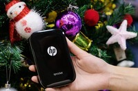 从小印到商喷 惠普打印祝大家圣诞快乐