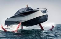 """超级富豪的大玩具 用碳纤维制造的""""飞艇"""""""