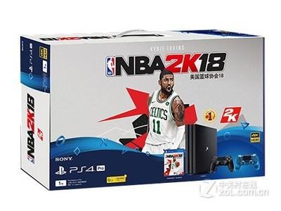 索尼 PS4 Pro《NBA 2K18》限量珍藏套装