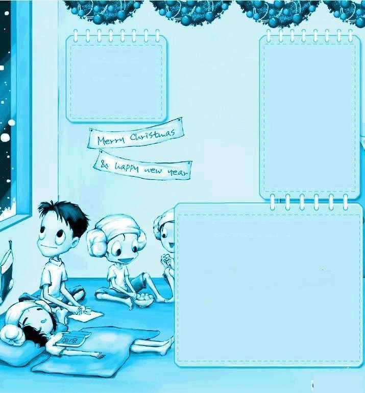 【高清图】 qq空间可爱动漫模板,可爱动态装饰素材图8