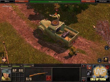 《锤子与镰刀》融合了策略和角色扮演游戏的特色,所有场...