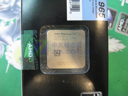 黑盒不锁倍频 速龙II四核965仅售899元